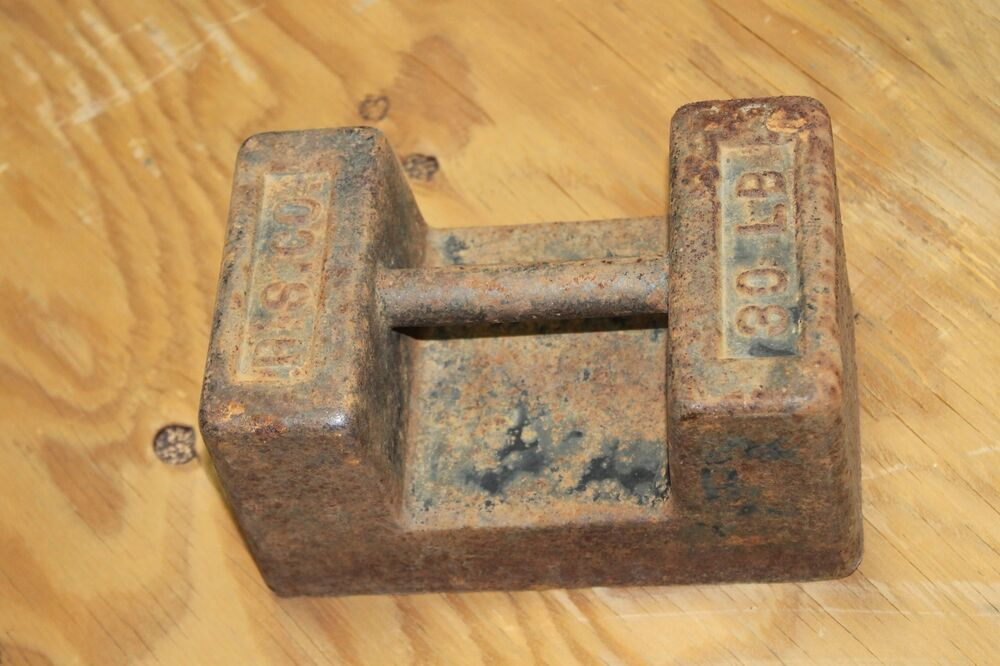 Scale Calibration Weights >> R.S CO 30 LB POUND SCALE WEIGHT   eBay