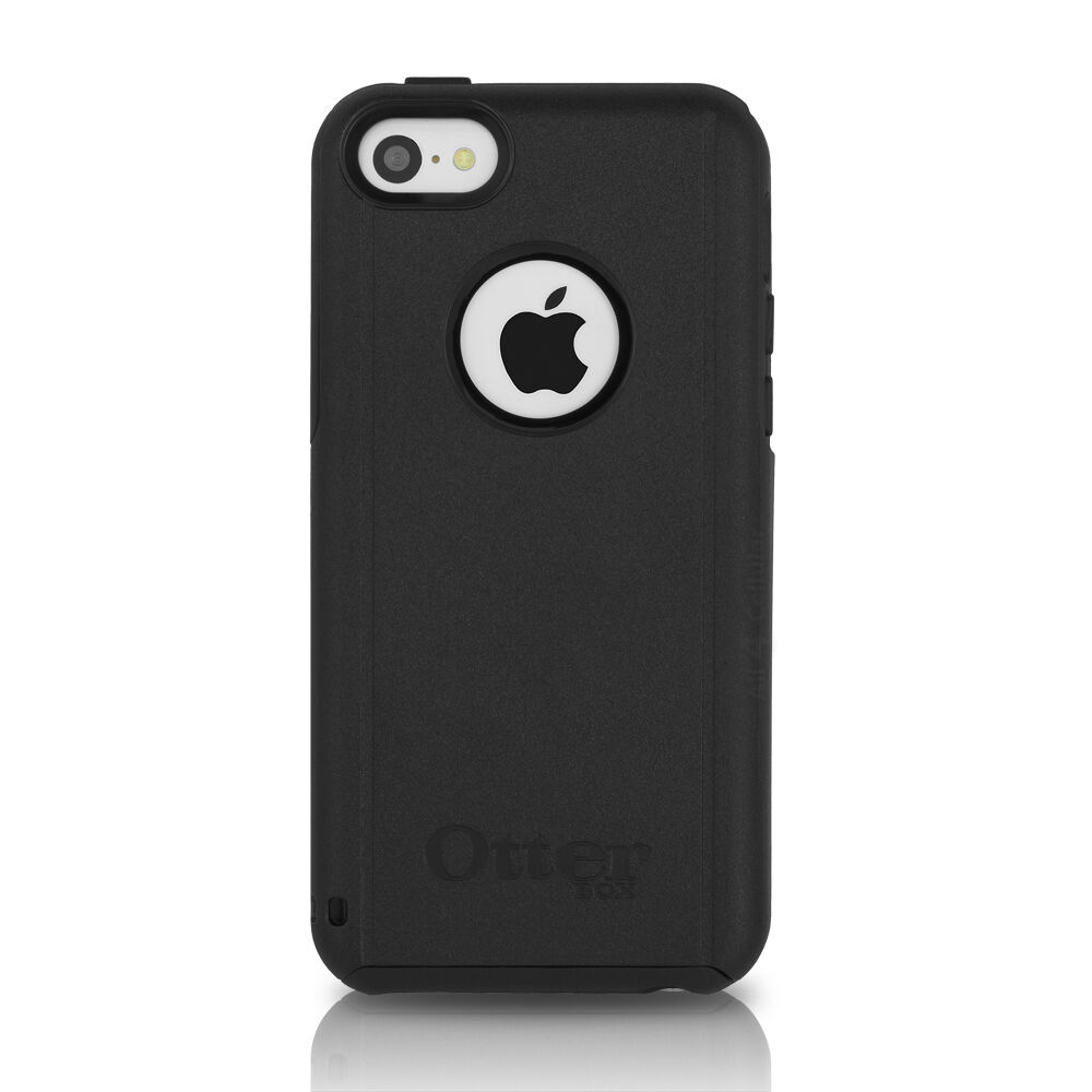 OtterBox Commuter iPhone 5C Case Black Gel Cover OEM ...