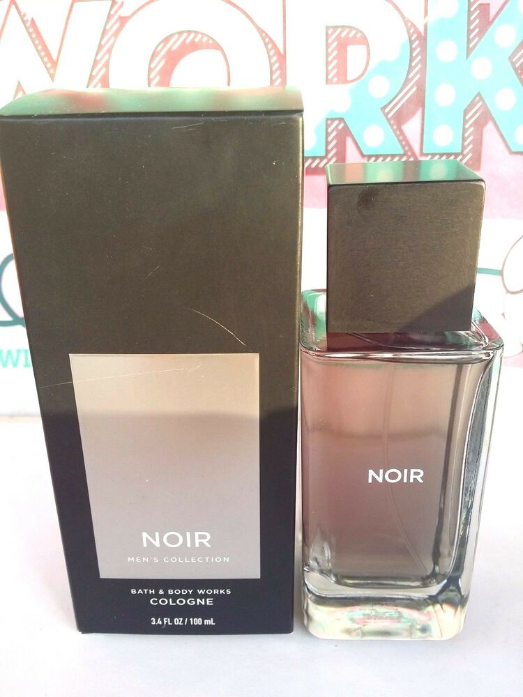 Bath and body works signature collection noir for men for 3 4 bath