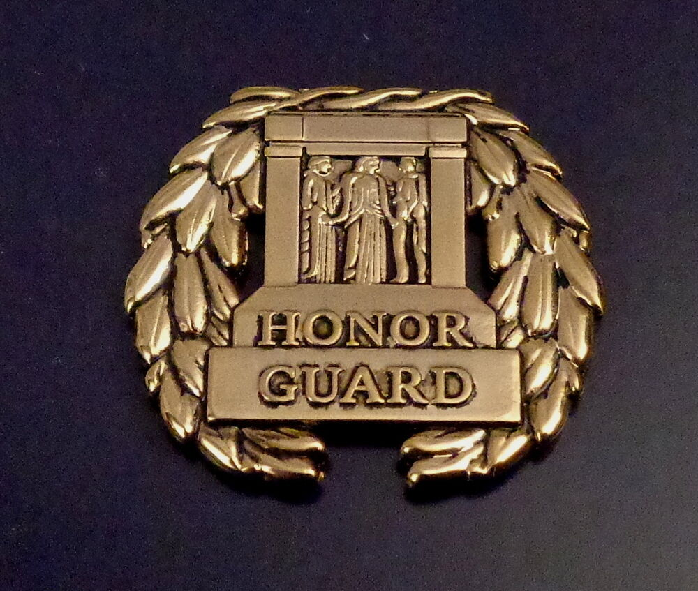 Honor Guard Tomb Of The Unknown Soldier Gold Lapel Pin