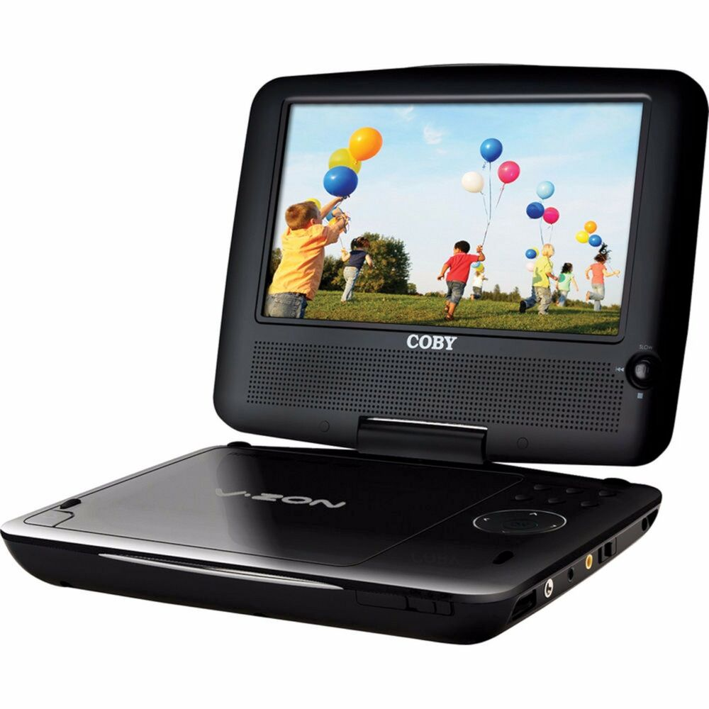 coby tfdvd8509 black v zon widescreen 8 5 portable dvd player remote headphones 716829998595 ebay. Black Bedroom Furniture Sets. Home Design Ideas