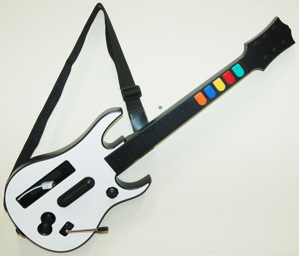 new nintendo wii u wii guitar hero game controller only world tour 4 5 rock band ebay. Black Bedroom Furniture Sets. Home Design Ideas