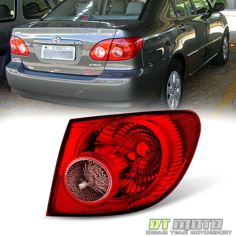 2001 Toyota Corolla Tail Lights: For 2005 2006 2007 2008 Toyota Corolla Tail Light Lamps