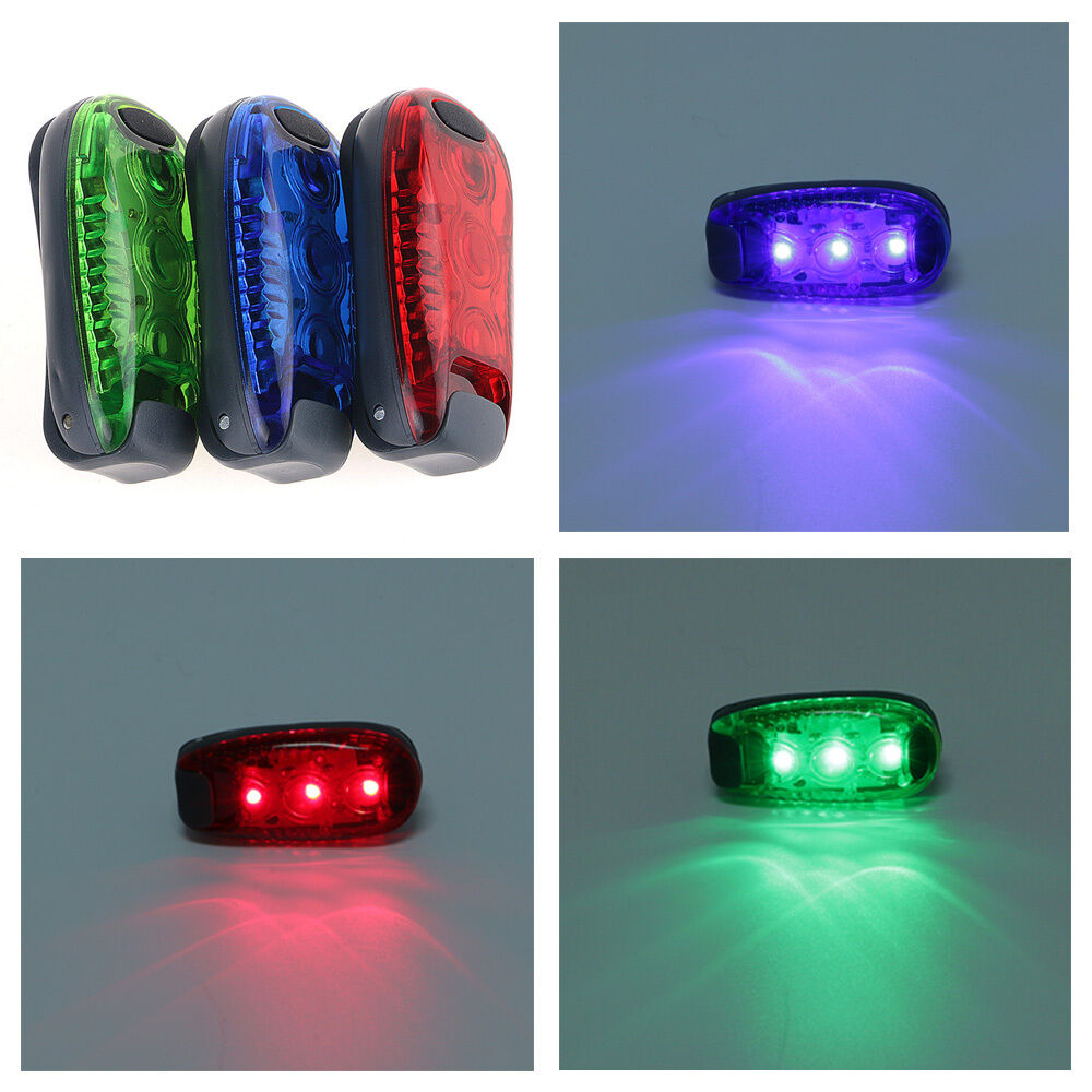 3 Modes Clip On Led Safety Light High Visibility Running