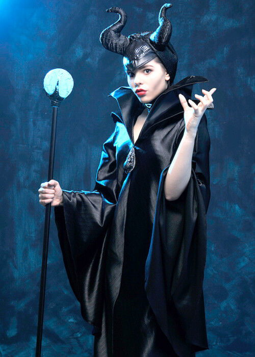 Adult Ladies Disney Maleficent Costume | eBay