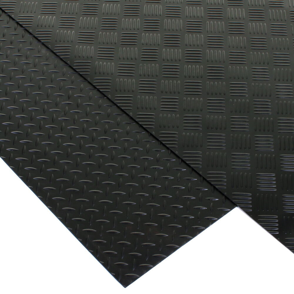 rubber flooring matting heavy duty mat anti slip mat garage wide 3mm thick ebay. Black Bedroom Furniture Sets. Home Design Ideas