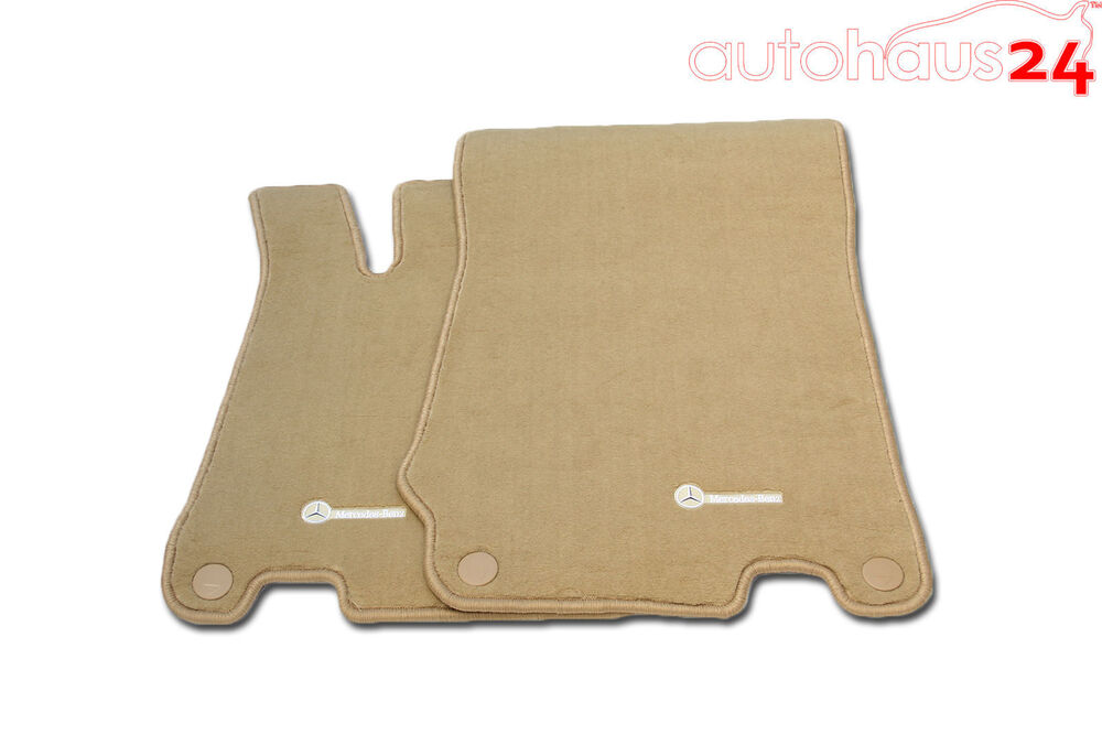 Mercedes benz sl class r230 stone beige carpet floor mats for Mercedes benz sl550 floor mats