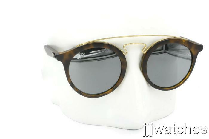 b51943beab Details about New Ray-Ban Gatsby I Tortoise Gray Mirror Sunglasses RB4256  60926G 46  175