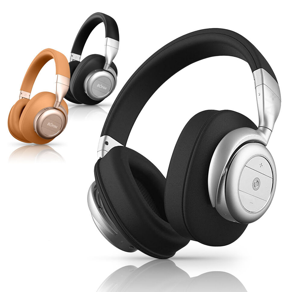b hm b76 wireless bluetooth over ear noise canceling. Black Bedroom Furniture Sets. Home Design Ideas
