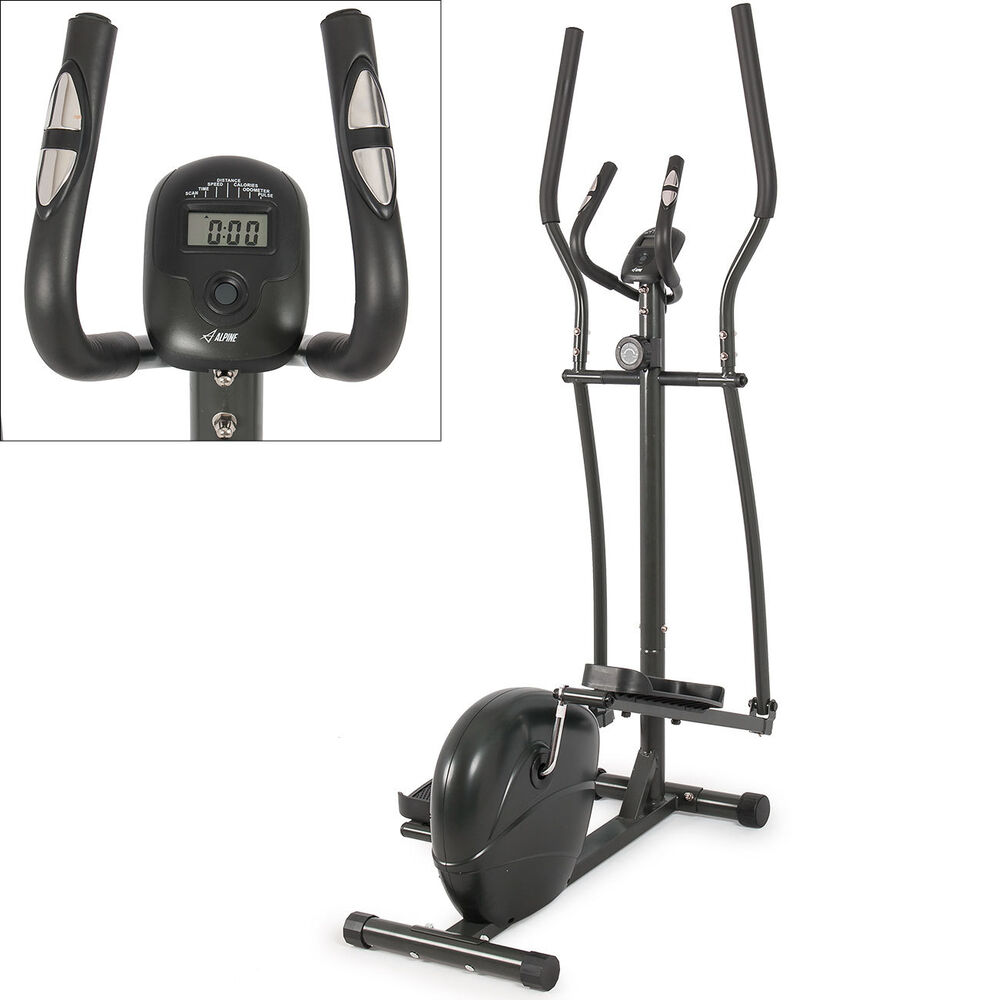 Elliptical Magnetic Trainer Machine Exercise Workout