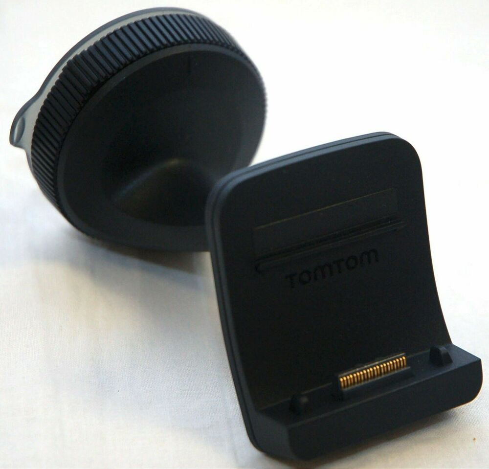 new genuine tomtom go 500 600 window mount suction car dock cradle 5000 6000 oem ebay. Black Bedroom Furniture Sets. Home Design Ideas