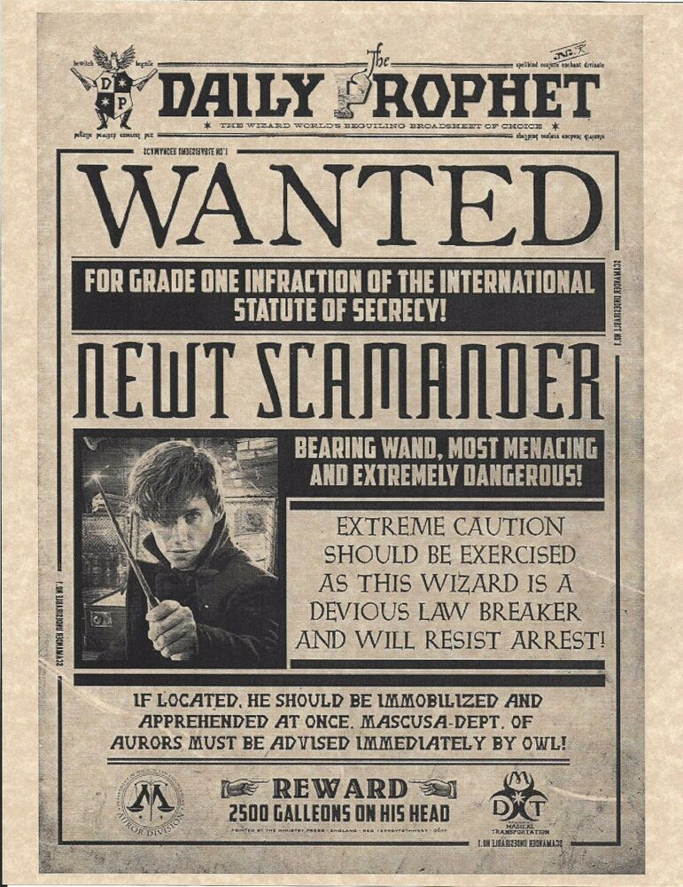 This is a picture of Exhilarating Harry Potter Daily Prophet Printable