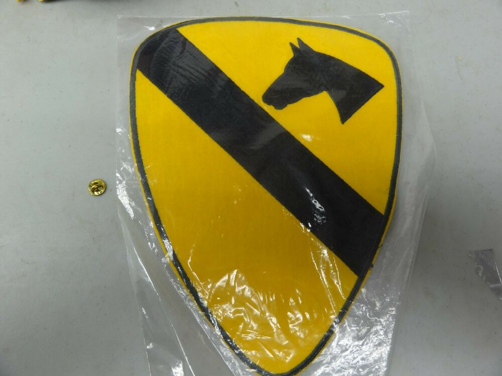 Details about MILITARY PATCH 1ST CAVALRY DIVISION HUGE ABOUT 10 INCHES FIRST  CAVALRY SEW ON b3f061214c5