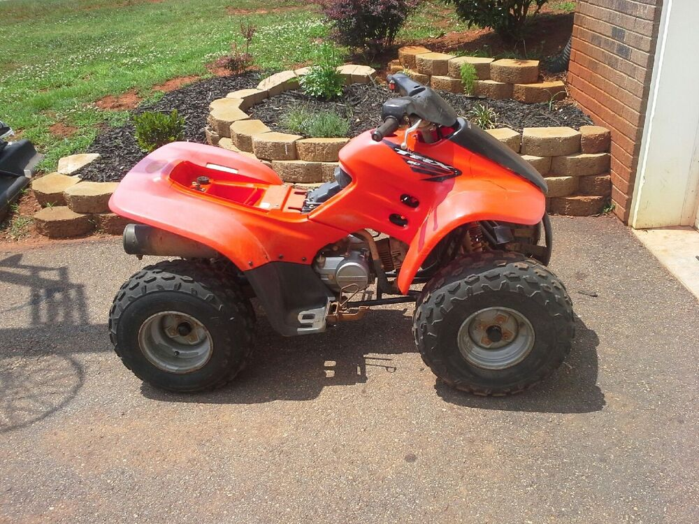 Four Wheeler Tyres : Honda trx wheeler tire rim rear used duro thrasher