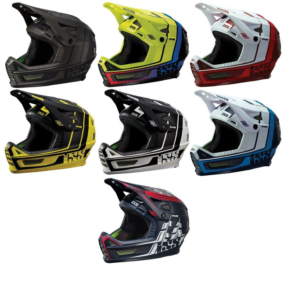 ixs fullface helm xult downhill mountain bike dh mtb bmx. Black Bedroom Furniture Sets. Home Design Ideas