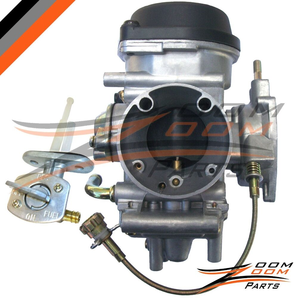 carburetor fits suzuki ltz400 ltz 400 quad atv with fuel valve petcock 2003 2007 ebay. Black Bedroom Furniture Sets. Home Design Ideas