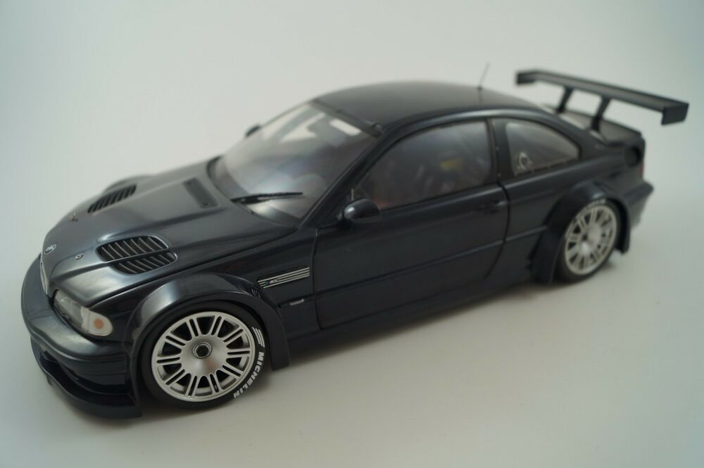 minichamps modellauto 1 18 bmw m3 gtr 2001 ebay. Black Bedroom Furniture Sets. Home Design Ideas