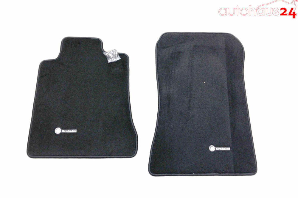 Mercedes benz sl class r129 black carpeted floor mats 1990 for Mercedes benz sl550 floor mats