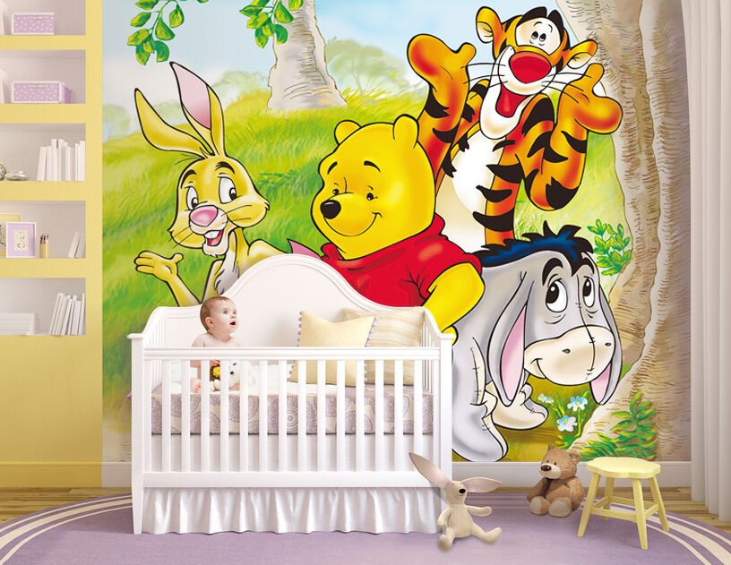 winnie pooh kinderzimmer dekoration carprola for. Black Bedroom Furniture Sets. Home Design Ideas
