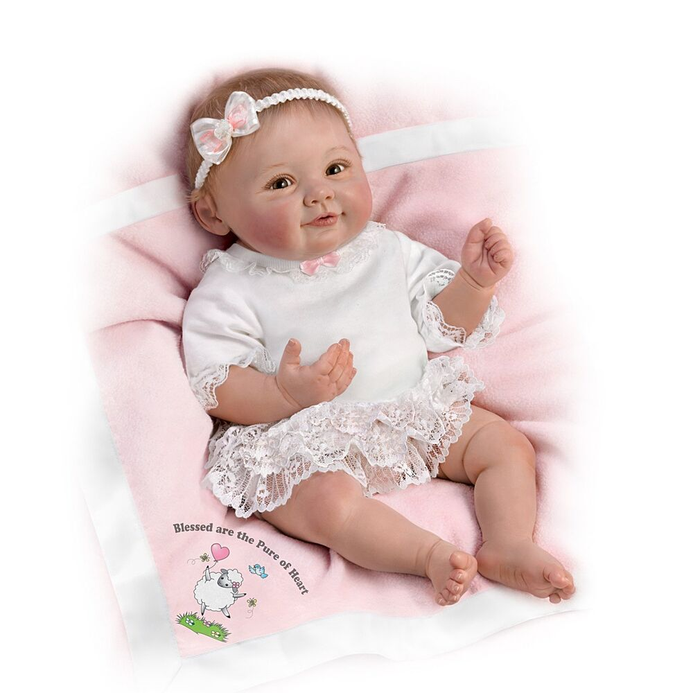 Blessed are the Pure of Heart Ashton Drake Doll by Ping ... Ashton Drake Dolls