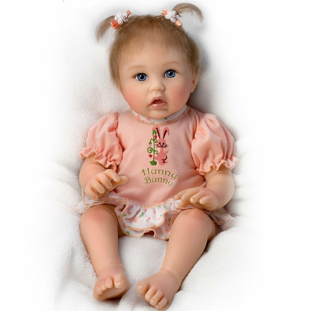 Little hunny bunny ashton drake doll by cheryl hill 18 for The ashton