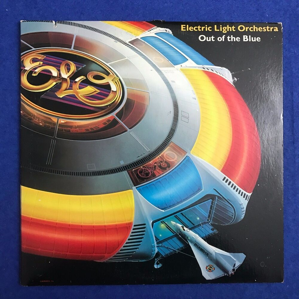 Electric light orchestra out of the blue 1977 usa double for Lit orchestra