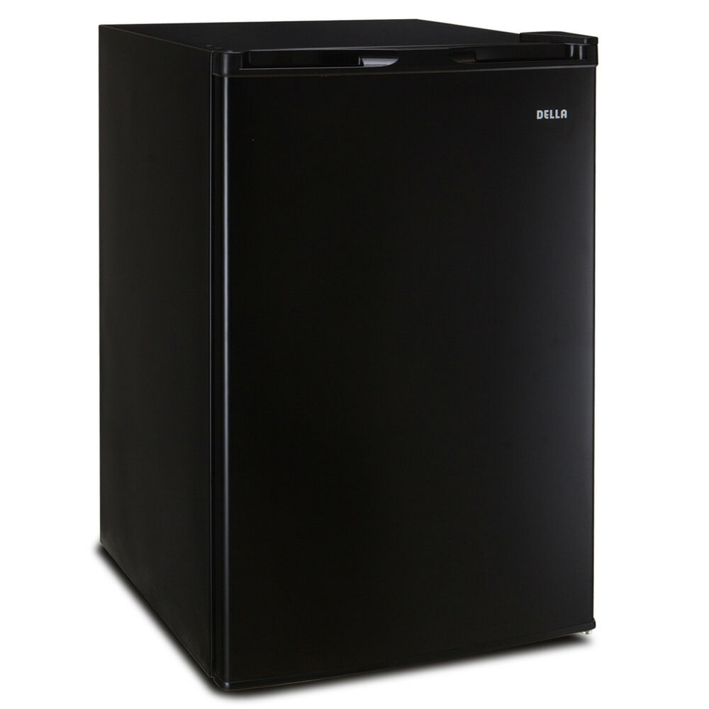 3.0 cu ft Black Freestanding Upright Freezer Compact Mini