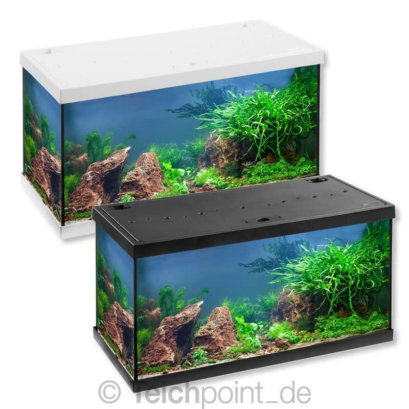 eheim aquarium komplett set aquastar 54 led 54 liter komplettset aquarienset ebay. Black Bedroom Furniture Sets. Home Design Ideas