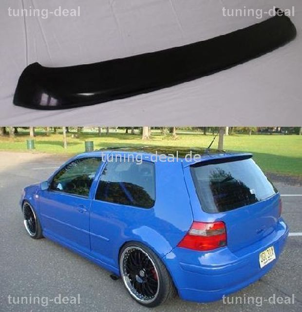 golf 4 iv r32 heckspoiler tuning r line spoiler neu ebay. Black Bedroom Furniture Sets. Home Design Ideas