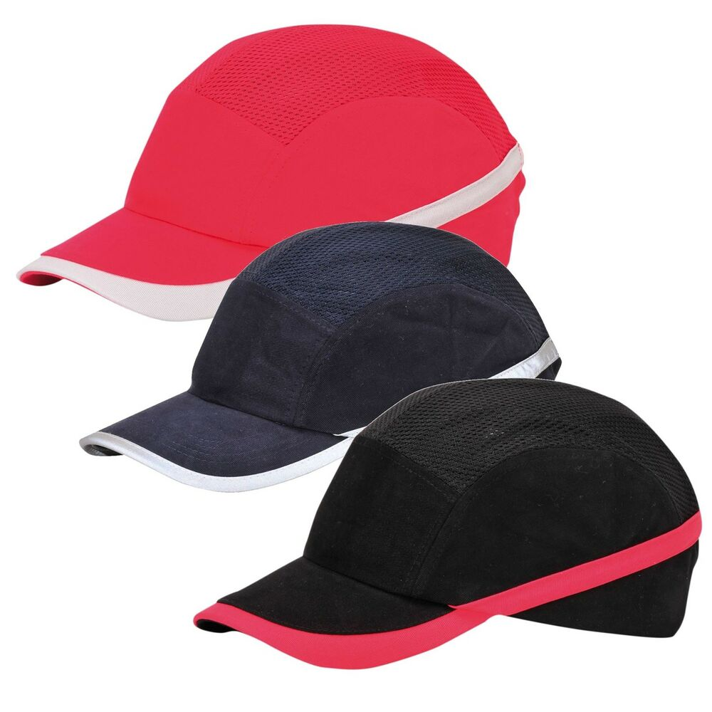 portwest vent cool protective bump cap baseball style