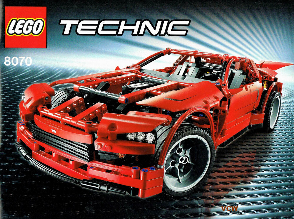 lego 8070 super car top zustand komplett ebay. Black Bedroom Furniture Sets. Home Design Ideas