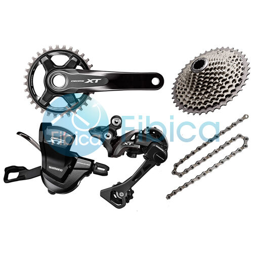 New 2018 Shimano Deore XT M8000 11s Group Groupset 30/32 ...