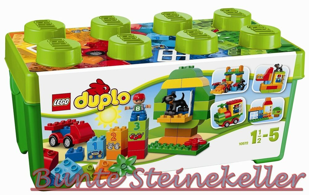 lego duplo 10572 gro e steinebox 0 versand ovp neu ebay. Black Bedroom Furniture Sets. Home Design Ideas