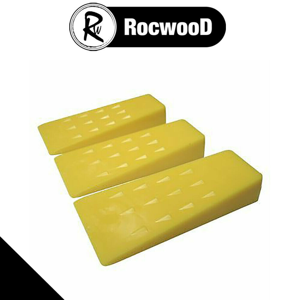 3 X Chainsaw Plastic 5 Quot Felling Cutting Cleaving Wedges