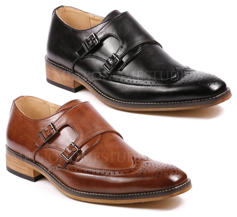 Mens Shoes With Monk Strap