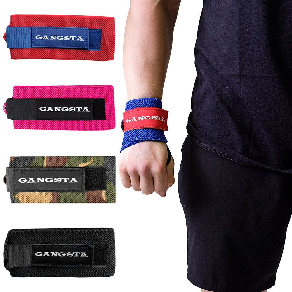 5f0f5c4ace Sling Shot Gangsta Wraps by Mark Bell, IPF approved weight lifting wrist  support | eBay