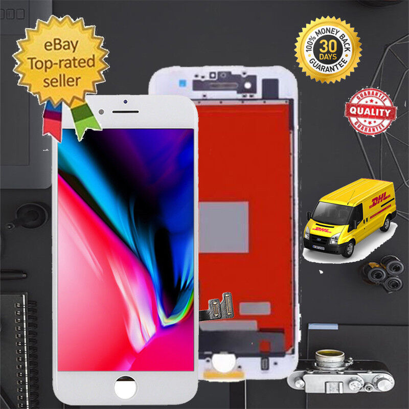 white lcd display touch screen digitizer assembly for iphone 7 plus 5 5 39 39 usa ebay. Black Bedroom Furniture Sets. Home Design Ideas