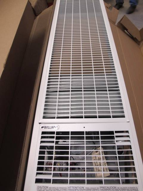 Williams Furnace 50 000 Btu Monterey Top Vent Gravity Wall