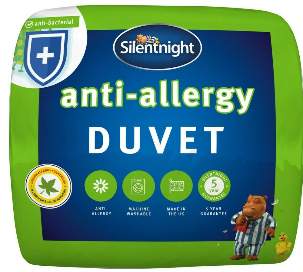 Silentnight Anti Allergy Duvet 4 5 Tog Ebay