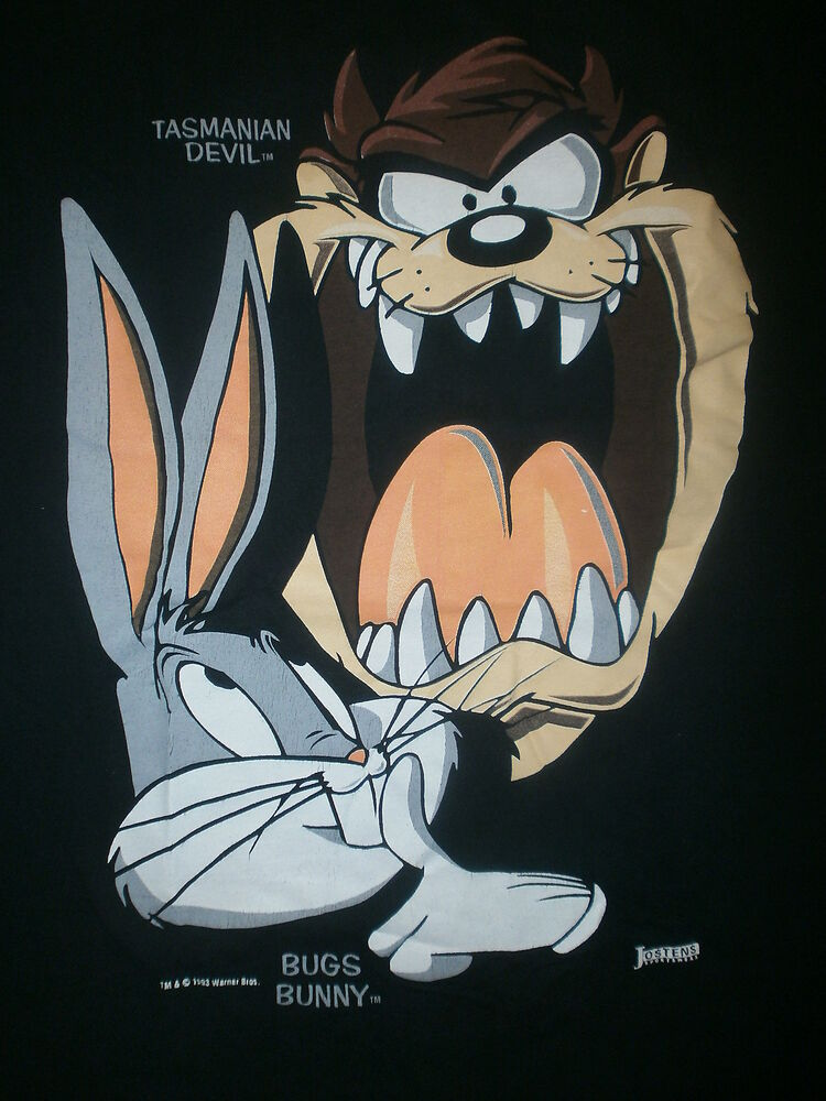 Gangster taz and bugs bunny