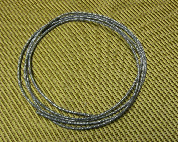 Metal Braided Wire | Metal Shielded Braided Wire For Project Gibson Guitars Wiring