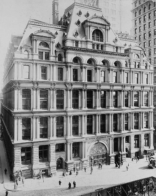 Equitable Building, Manhattan New York City 8x10 Silver