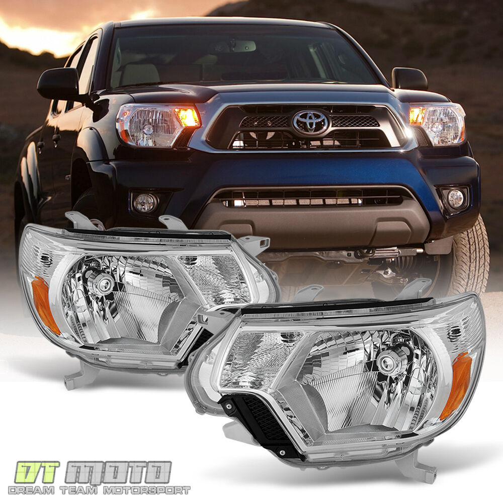 Toyota Tacoma Headlights: For 2012-2015 Toyota Tacoma Replacement Headlights