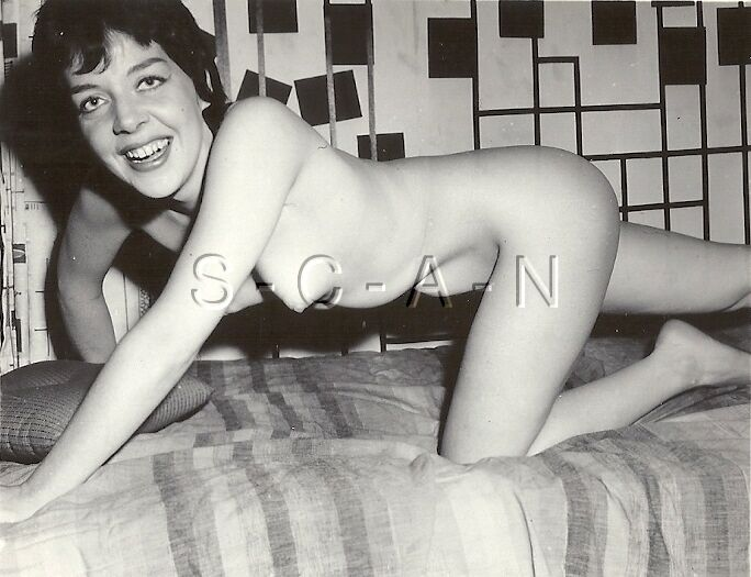 Details about Original Vintage 1940s-60s Nude RP- Skinny Woman Crawling on  all Fours- Laughs