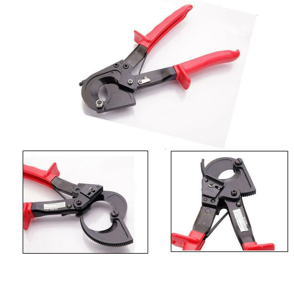 Electric Cable Cutters : New electrical ratchet wire line cable cutter plier