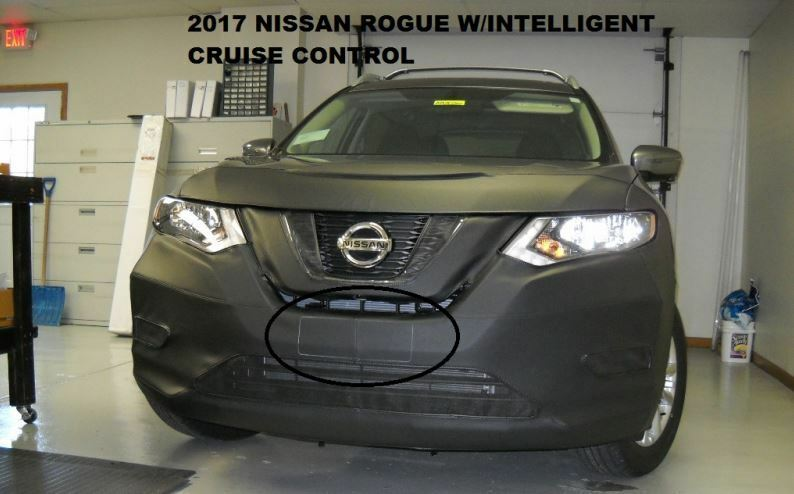 Lebra Front End Mask Cover Bra Fits 2017-2019 Nissan Rogue ...