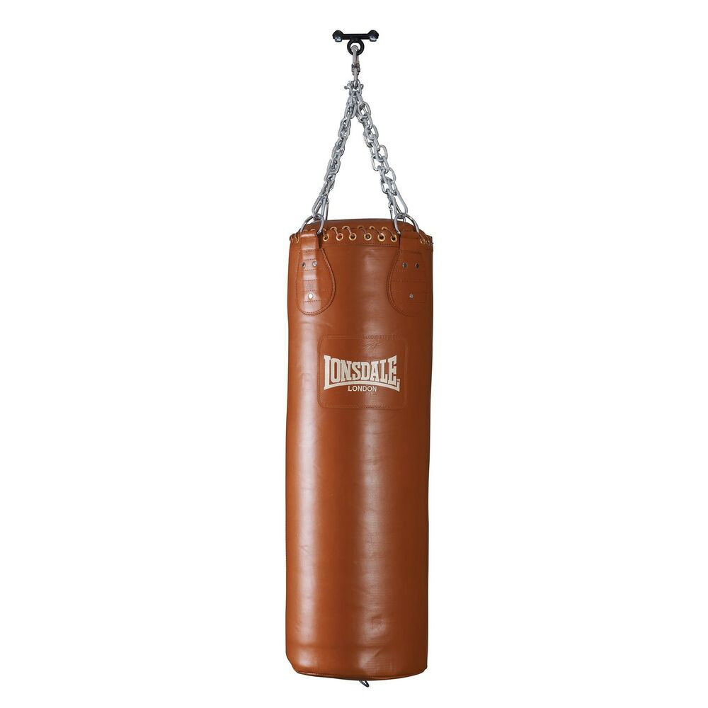 lonsdale authentic boxing punch bag ebay. Black Bedroom Furniture Sets. Home Design Ideas