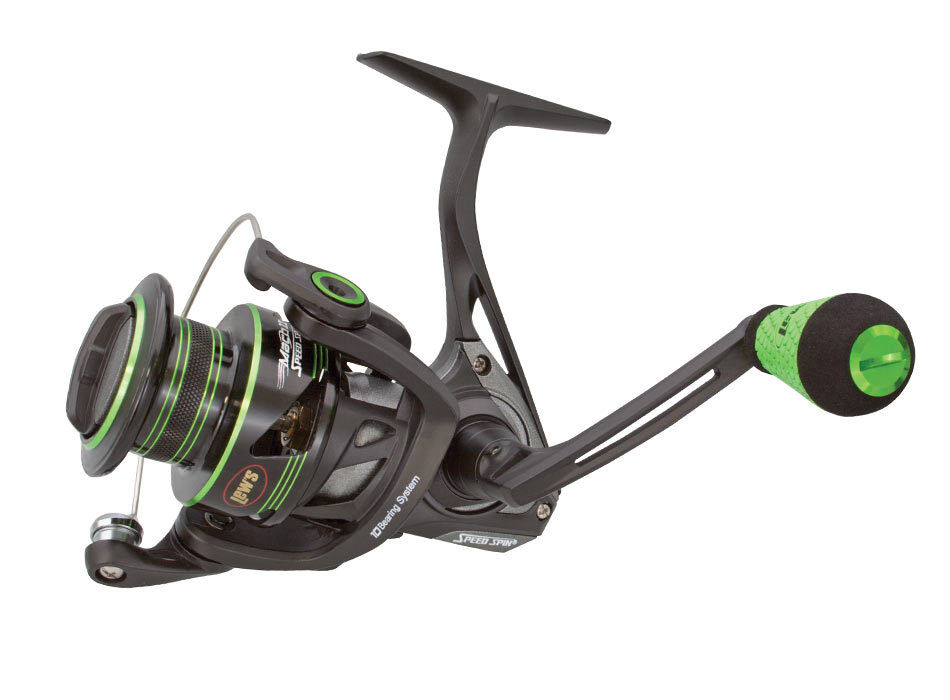 Lew 39 s mach ii speed spin mh2 300 spinning fishing reel ebay for Lews fishing apparel