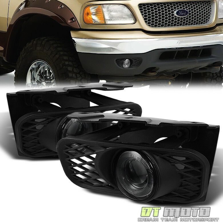 Ford F150 99: Smoked 1999-2003 Ford F150 99-02 Expedition LED Halo