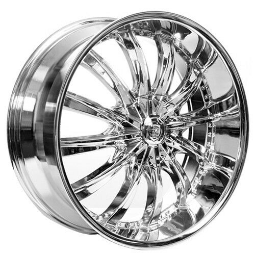 4new 20 Quot Borghini Wheels B19 Chrome Rims Ebay